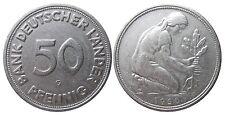 J379  50 Pfennig Bank deutscher Länder  1950 G in SS 1502002