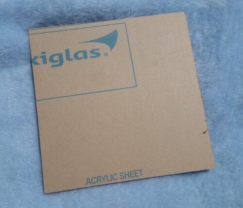 "Plexiglas G Plexiglass Clear Cell Cast Acrylic Sheet 1//4/"" x 8/"" x 8/"" Cut Oversize"