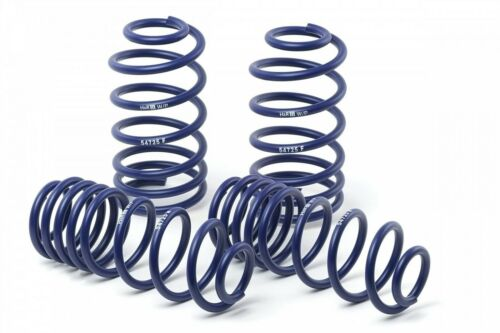 H/&R Sport Lowering Spring Kit For 09-14 Audi A4 Avant Quattro S5 Cabrio AWD