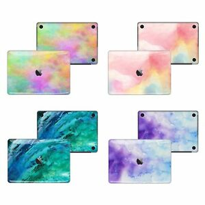 Details about Macbook Pro Air 13 15 Skins case Sticker Decal Watercolor  paint Macbook FSM-TB