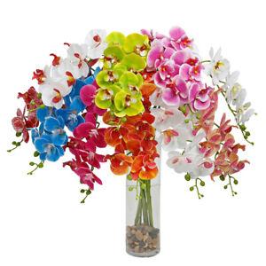 PM-3D-Print-Artificial-Flower-Butterfly-Orchid-Garden-DIY-Party-Wedding-Decor
