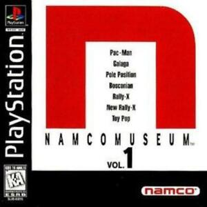 Namco-Museum-Vol-1-Playstation-1-Game-PS1-Used-Complete
