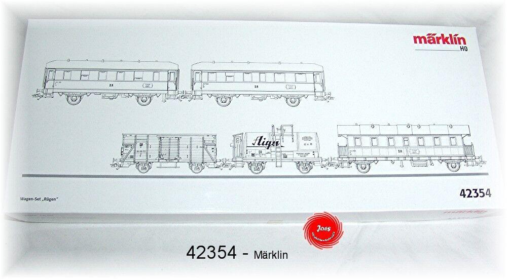 Märklin 42354 -  Wagen-Set ´Rügen´   Spur H0    Neu