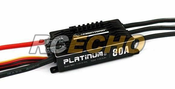 Hobbywing Platinum 80a v4 RC Model brushless motor ESC speed controller sl103