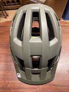 Smith Bicycle Helmet Medium Matte Sage/Red Rock
