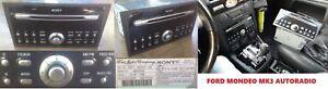 SONY CDX-FC132 FORD CD132 MONDEO MK3 Wechsler + CODE AUX Autoradio mit 6 fach MS