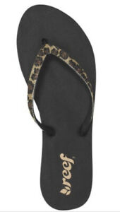 reef black sparkle flip flops