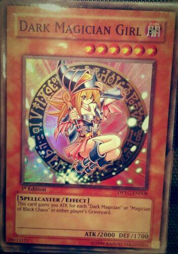 Dark Magician Girl DPYG-EN008 Super Rare PL Duelist Pack Yugi Yugioh