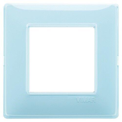 PLACCA VIMAR 14642.45 PLACCA 2 MODULI REFLEX ACQUA VIMAR STOCK 5 PEZZI