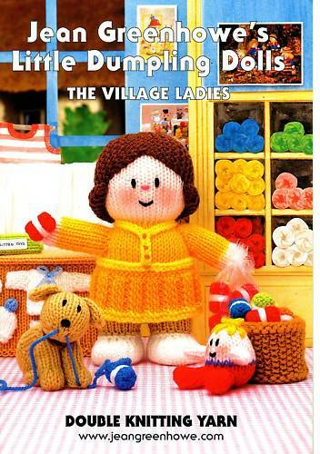 JEAN GREENHOWE KNITTING PATTERNS DUMPLING DOLLS LADIES