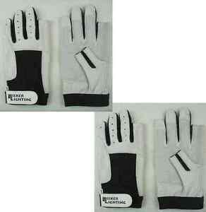 BluePort Segelhandschuhe Rinderleder Gr 10 XL fingerlos Rigger Gloves