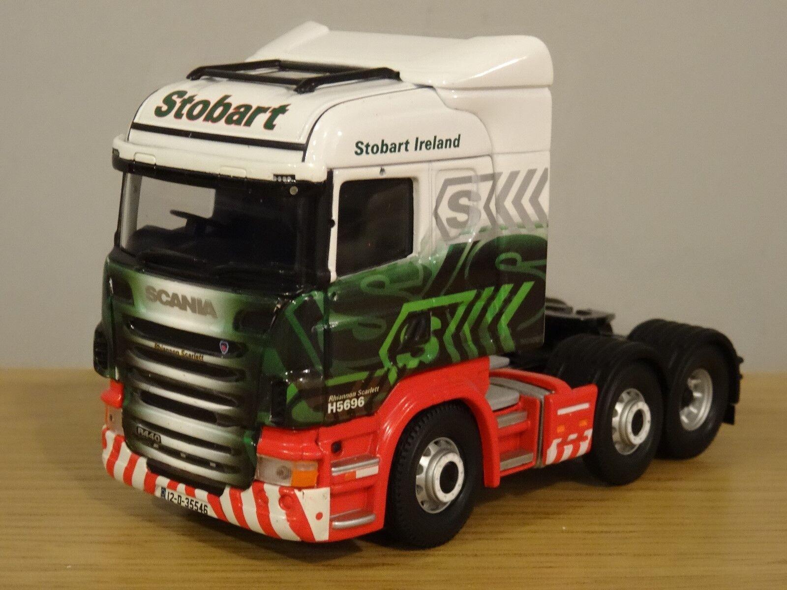 Corgi transportista renombre Eddie Stobart Irlanda Scania Scania Scania R taxi del carro modelo CC13749 1 50 a65b3f