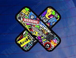 PLASTER-STICKER-BOMB-Colour-Car-Van-Bike-Window-Bumper-Laptop-Printed-Sticker