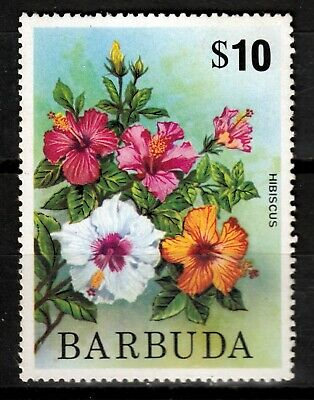 Antigua Und Barbuda Blumen-hibiscus Online Shop Briefmarken Barbuda 233 **