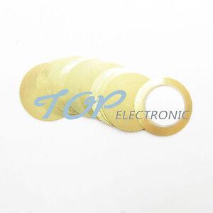 20PCS 27mm Piezo Elemente Sounder Sensor Trigger Drum Disc Kupfer new