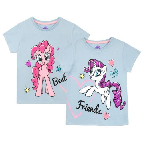 My Little Pony T-Shirt Pack of 2Girls My Little Pony Short Sleeve Top 2 Pack