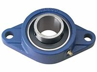 UCFL Metric Flanged Pillow Block Self Lube Bearing 2 Bolt Flange Normal Duty