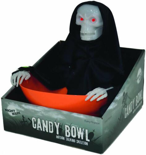 Candy Bowl Holder Skelett Geist Süssigkeiten Halter Schale Halloween Deko
