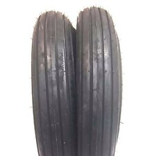 Two 590x15590 15 Rib Implement Farm Tractor Tires Disc Do All 590 15