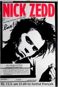 ZEDD-NICK-1990-Plakat-US-Underground-Poster-Bremen