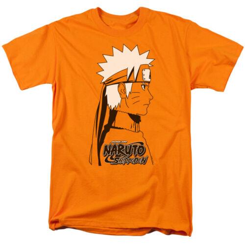 Naruto Shippuden Anime Manga NARUTO FACE DISTRESSED Adult T-Shirt All Sizes
