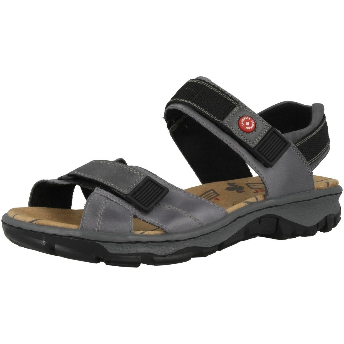 Rieker Gange-Preston Scarpe Outdoor Sandali ANTISTRESS Sandali 68851-12 | Nuovo design  | Gentiluomo/Signora Scarpa