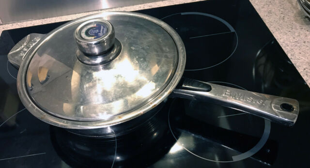 Bachmayer Solingen 25cm deep 18/10 stainless steel Pan with Lid