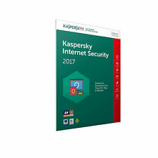 KASPERSKY INTERNET SECURITY 2017 3PC/1YEAR, ANTIVIRUS, NO CD, FREE DELIVERY