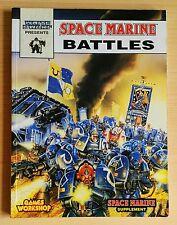 White Dwarf Presents SPACE MARINE BATTLES 1993 Epic Supplement Games Workshop