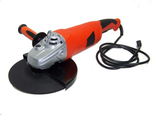 """9/"""" ELECTRIC ANGLE GRINDER CUTTER 6200 RPM  BALL BEARING MOTOR 15 amp 120 v"""