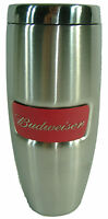 Budweiser Stainless Steel Tumbler Beer Travel Mug Thermos Coffee Cup 18oz