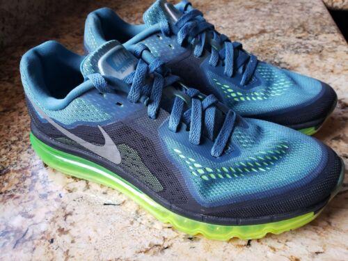 Men's Nike Air Max 2014 Rift Blue/Reflective Silve