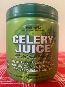2-DietWorks CELERY JUICE 30-Servings ORGANIC WHOLE FOOD POWDER UNFLAVORED KETO