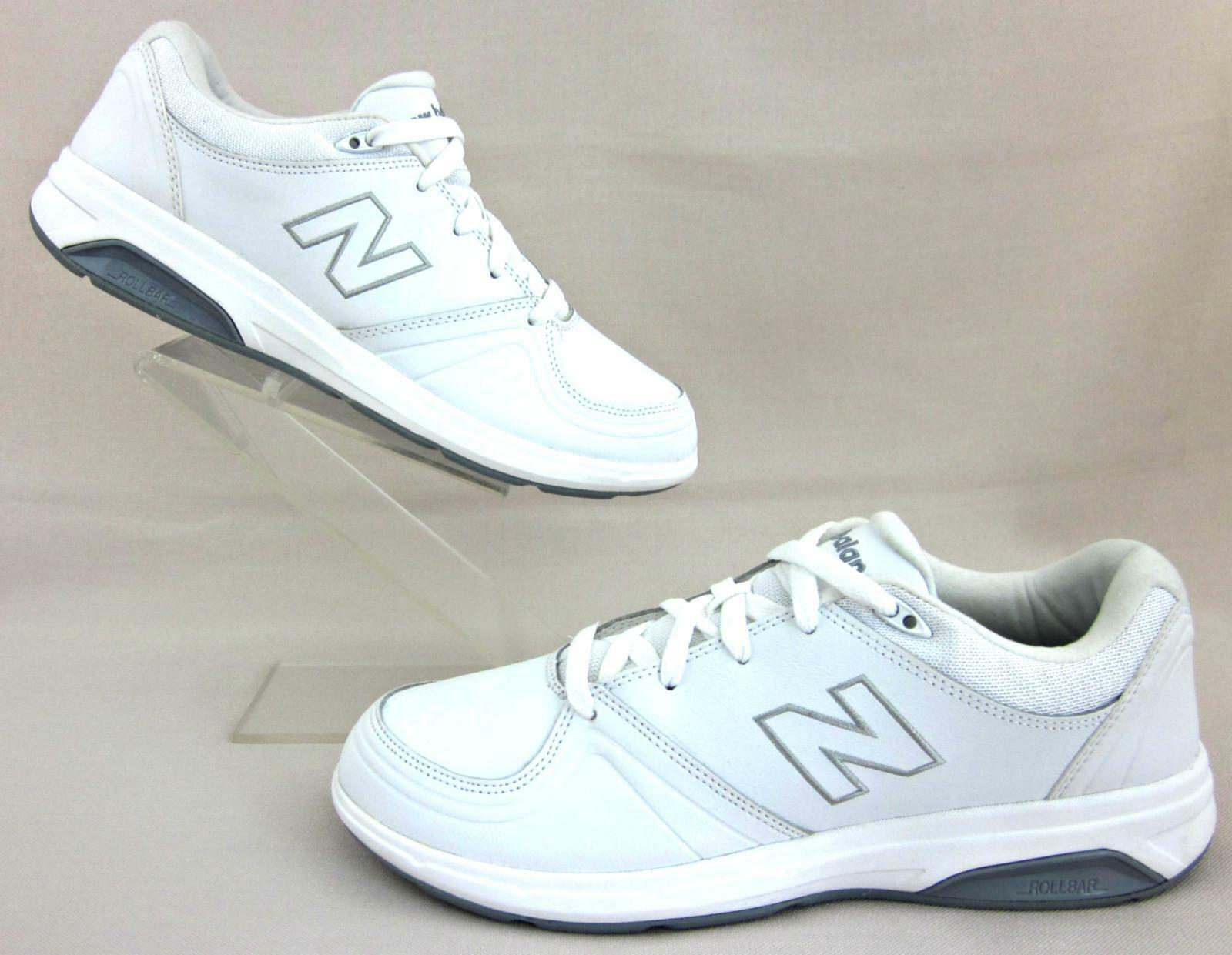 NEW New Balance 813 femmes  Walking  Chaussures blanc  Leather US 10.5B