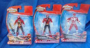 Power Rangers - Super Megaforce Moc Lot de figurines Ranger rouge Samurai Mighty Morphin
