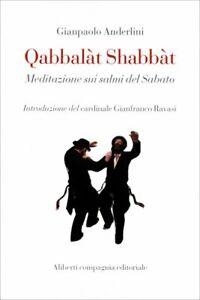 LIBRO QABBALAT SHABBAT - MEDITAZIONE SUI SALMI - GIANPAOLO ANDERLINI