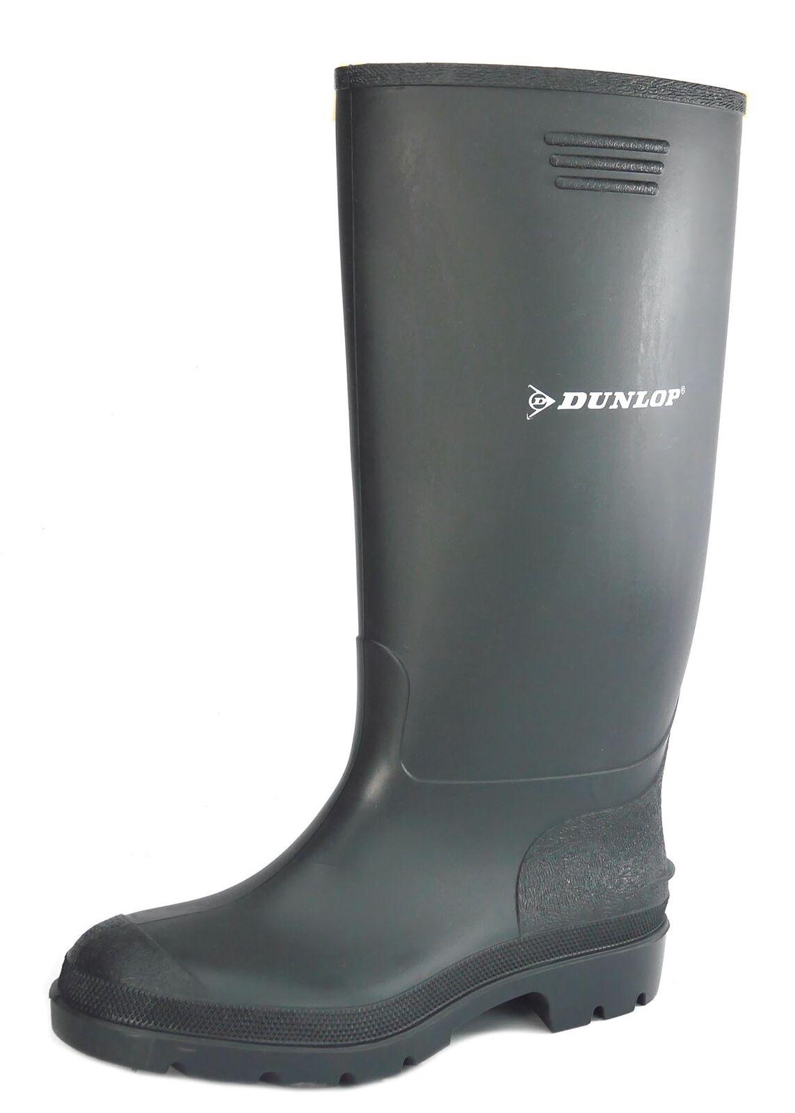 Dunlop Waterproof Pricemaster Mens Wellington Boots Mens Pricemaster Ladies Black 8c1250