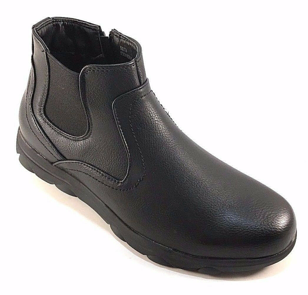 Gelato 8558-01 Black Men's Ankle Booties