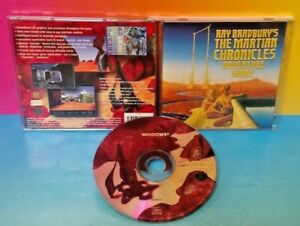 Ray Bradbury's The Martian Chronicles - PC Game Tested - Mint Disc Rare Tested