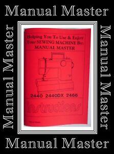 Original toyota 2440 2440dx 2466 zigzag sewing machine.