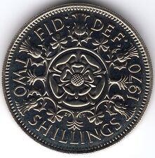 1970 2s 24d Florin TWO SHILLINGS Elizabeth II - PROOF - UNCIRCULATED (a)