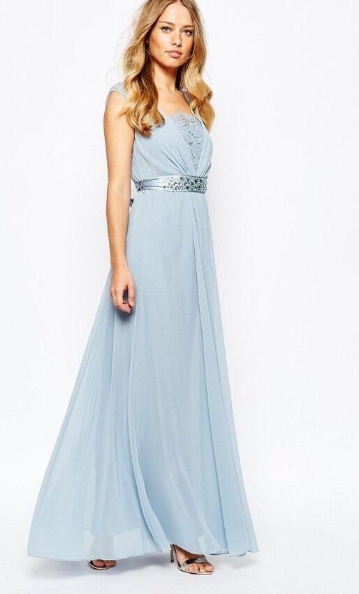 Coast (size ) Lori Ella Maxi Dress , Sage  , Very Glamgoldus
