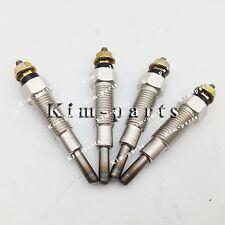 4 pieces Glow Plug For Kubota Kubota V1902 Diesel Engine Parts