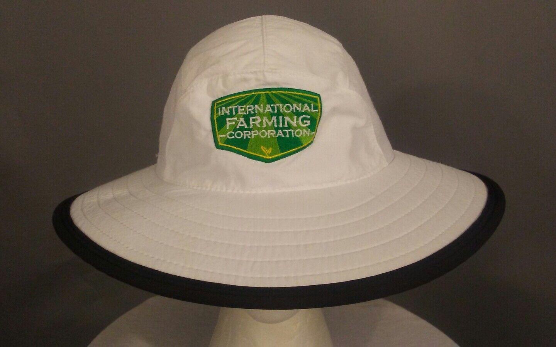 International Farming Corporation Wide Hat Brim Sun Outdoor Bucket Mesh Hat Wide Cap d72f90
