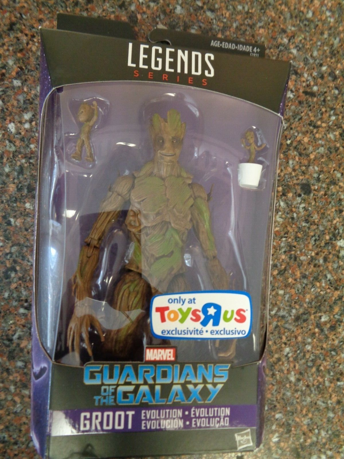 Marvel Legends Series Groot Evolution TRU Exclusive GOTG Brand New VHTF
