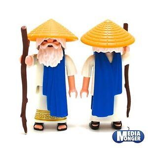 playmobil-Ritter-Samurai-Asiate-Shaolin-Moench-Kung-Fu-Meister