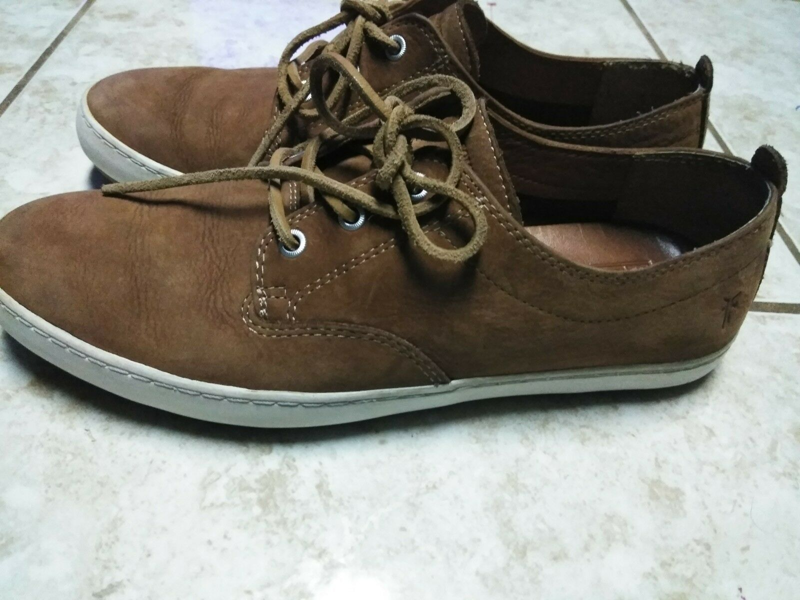 Frye Mens Norfolk Deck Lace Up Casual Walking Fashion Sneakers shoes 11.5