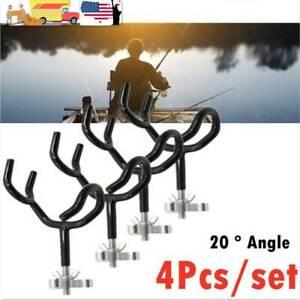 4PCS-Sure-Grip-Steel-20-Degree-Angle-Rod-Holder-for-Fishing-Boat-Rod-Pod-Marine