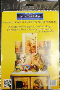 Lazertran-Premium-Waterslide-Decal-Paper-For-Inkjet-Printers-8-x-A4-Sheets