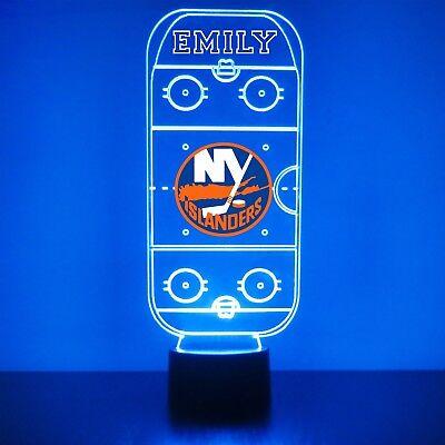 New York Islanders Fan Hockey Lamp